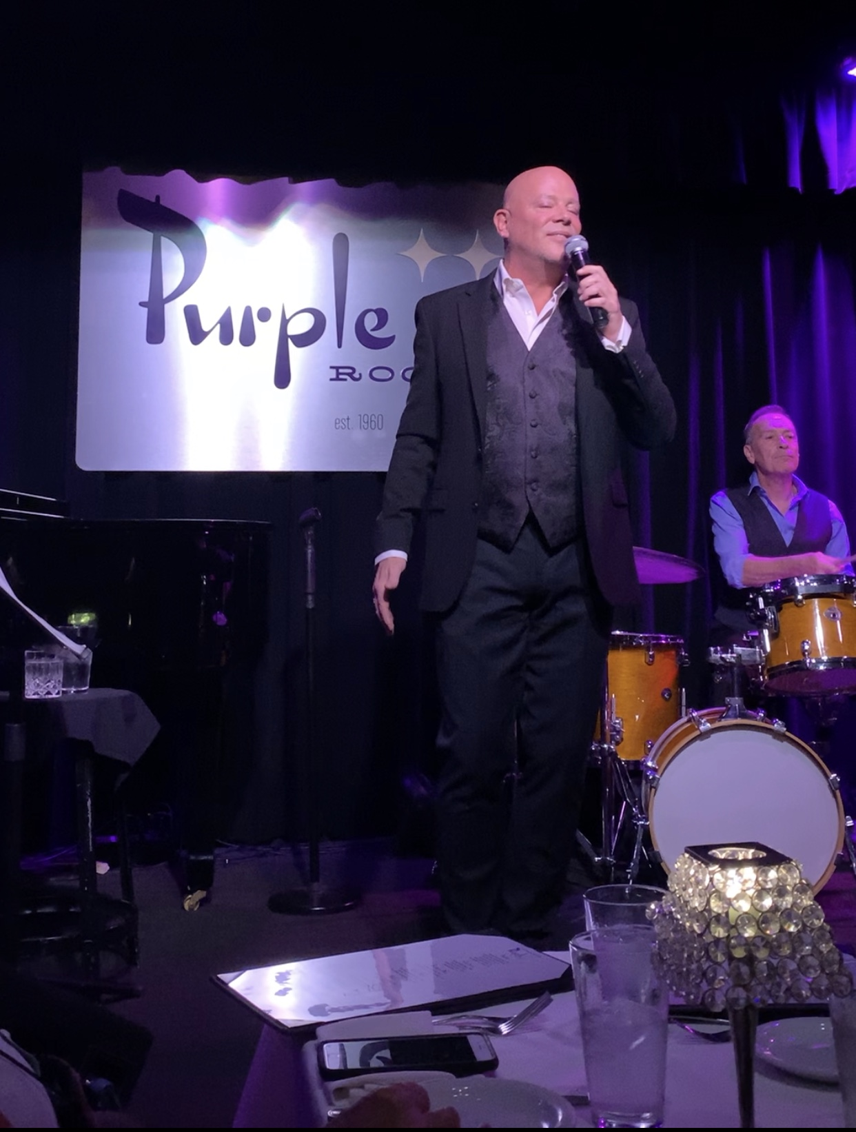 Michael Holmes' Purple Room Supper Club.